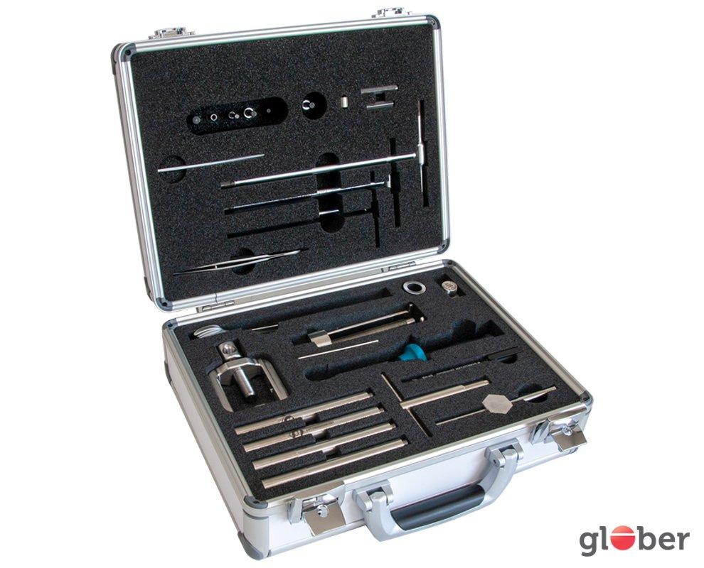Chirurgen implantaten gereedschapskoffer